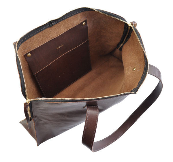 Zip-top Satchel