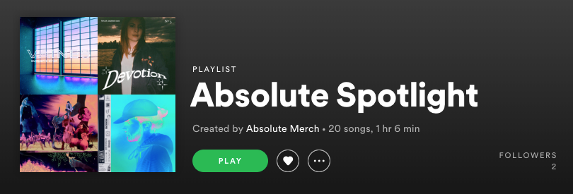 Absolute Spotify