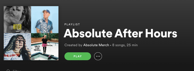 ABSOLUTE...AFTER HOURS