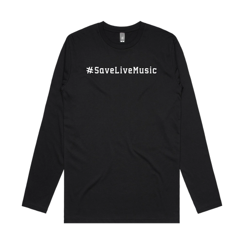 save live music long sleeve
