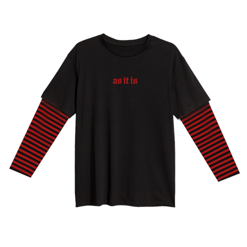 As It Is - Custom Stripe Long Sleeve