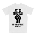 AWS - Just So You Know BLM Tee
