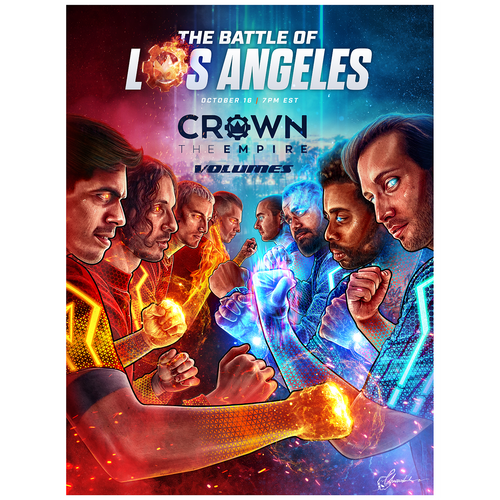CTE - Battle of Los Angeles Poster