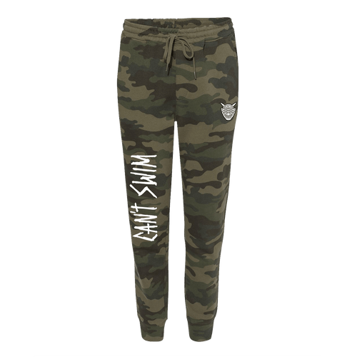 Can't Swim - Oni Joggers Camo