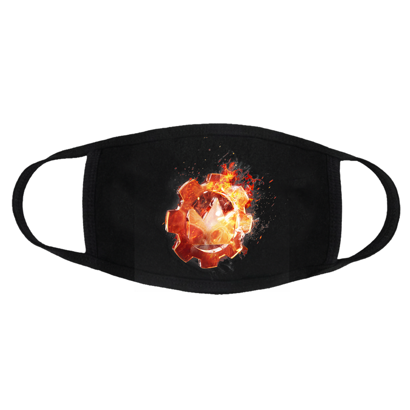 CTE - Flame Logo Mask