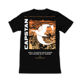Capstan - Stay Inside Orange Tee