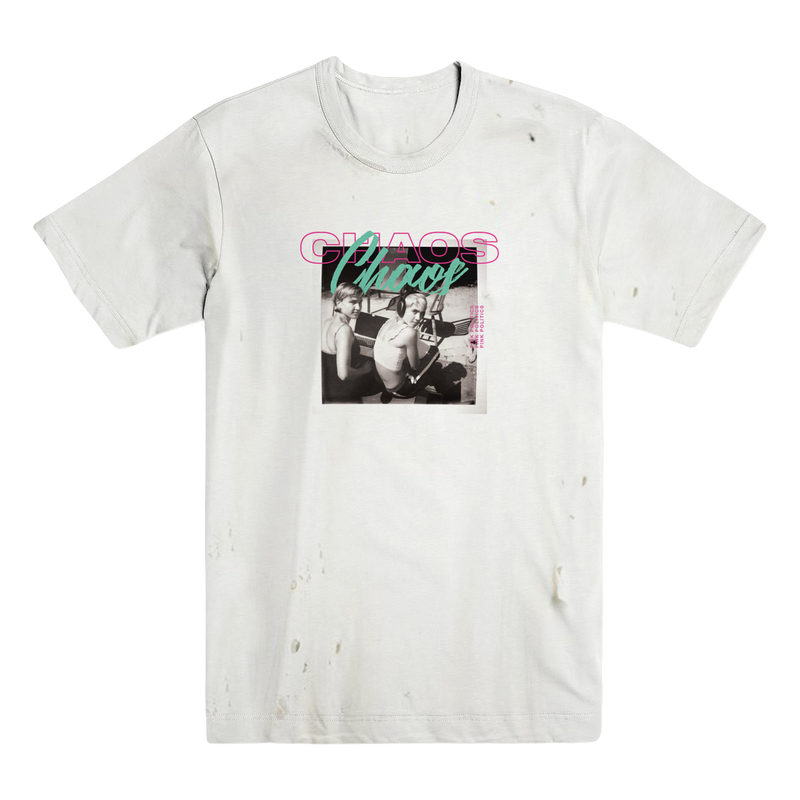Chaos Chaos - Distressed Polaroid Tee