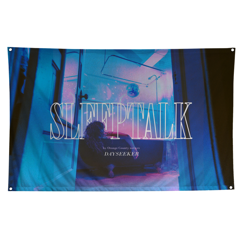 Sleeptalk Wall Flag