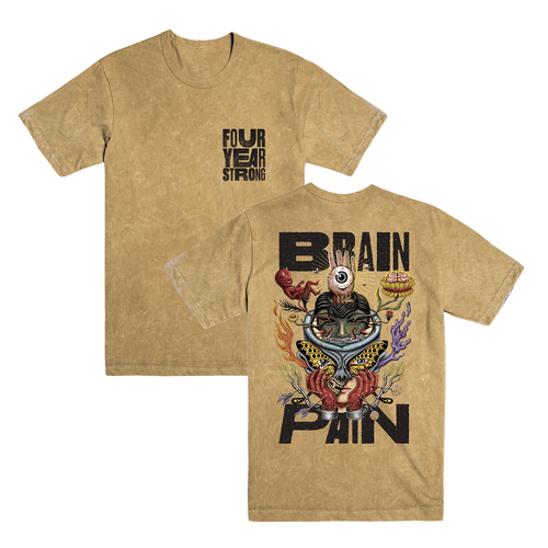 FYS - Brain Pain Acid Wash Tee