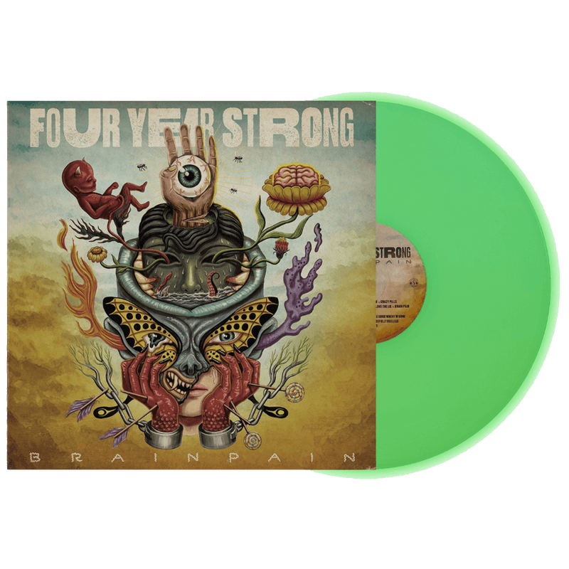 FYS - Brain Pain Glow in the Dark Vinyl