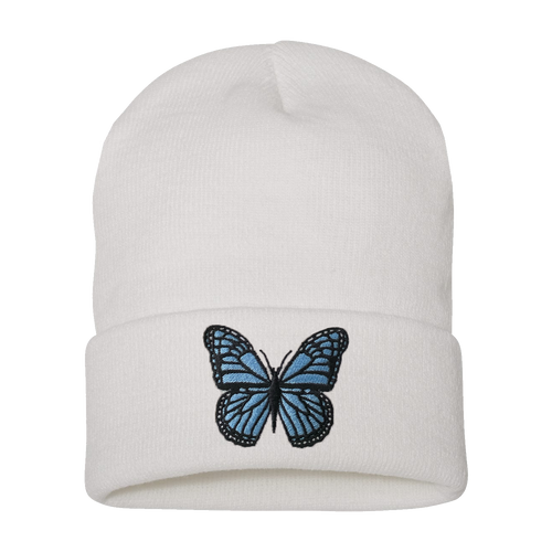 Grabbitz - Butterfly Embroidered Beanie
