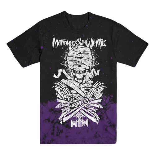 Motionless In White - Mummy Dye Tee