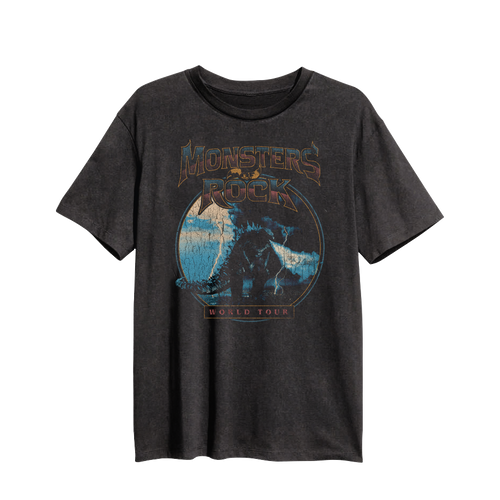 Vintage Godzilla MONSTERS OF ROCK® World Tour Shirt