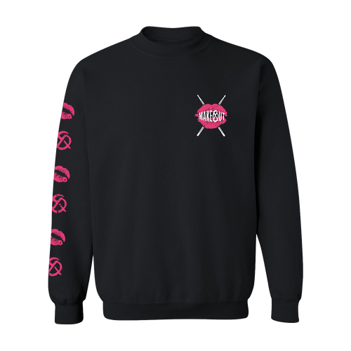 Makeout - Lips Crewneck Sweatshirt