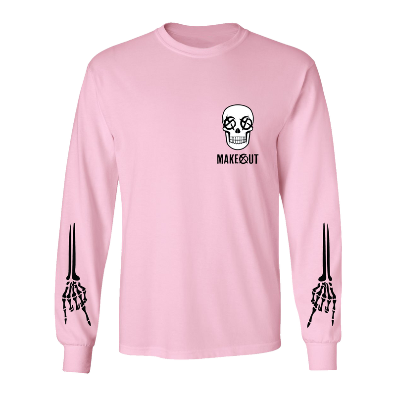 Makeout - Pink Long Sleeve Tee