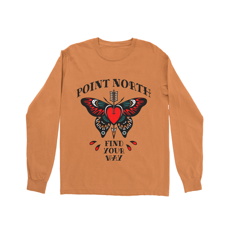 Point North - Find Your Way Long Sleeve Tee