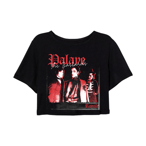 Palaye Royale - The Bastards Crop Top