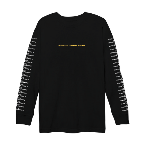 R I L E Y - WORLD TOUR LONGSLEEVE