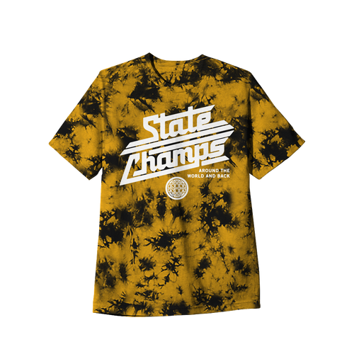 SC - Around The World Custom Gold Dyed Tee