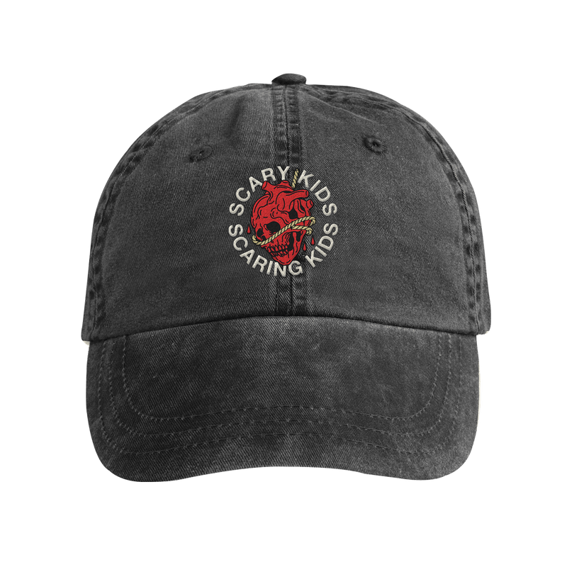 SKSK - Heart Skull Dad Hat