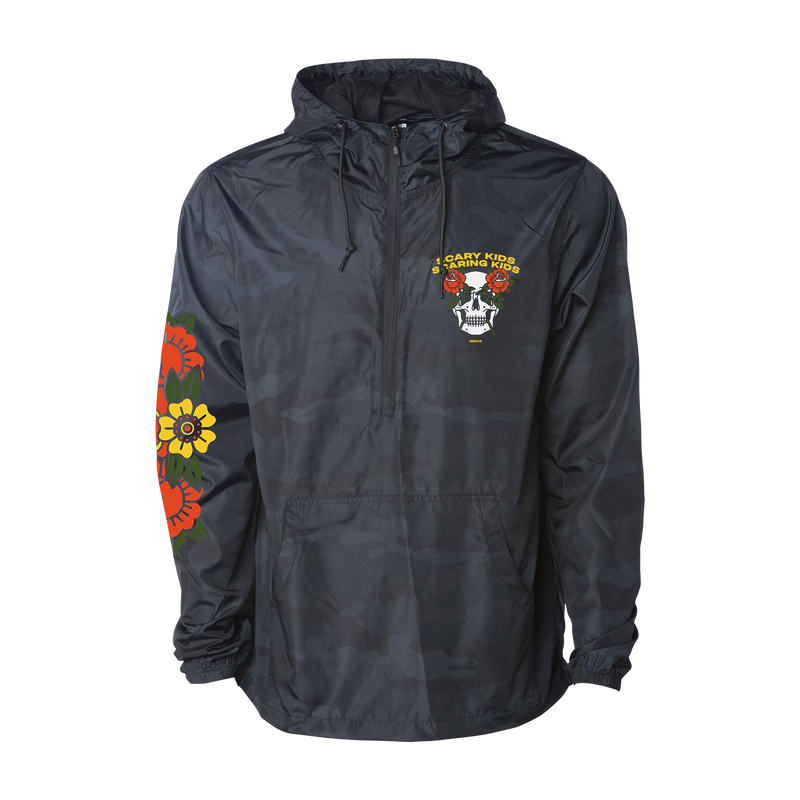 SKSK - Rose Eyes Windbreaker Anorak Jacket