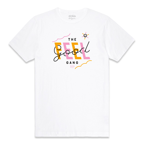 Strala - Feel Good Gang Tee Orange