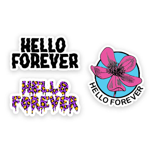 Hello Forever Sticker Pack