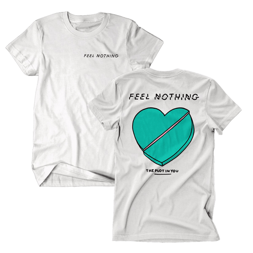 TPIY - Feel Nothing White Tee