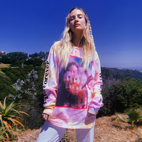 Hello Forever Tie Dyed Long Sleeve