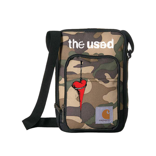 The Used - Camo Side Bag