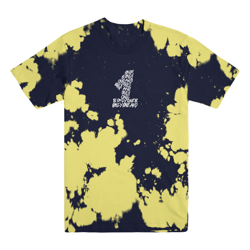 WL - Black and Yellow Dyed Tee