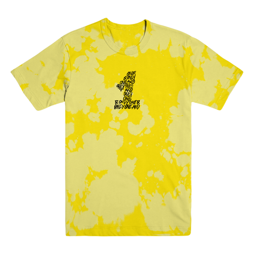WL - Yellow on Yellow Bleached Tee