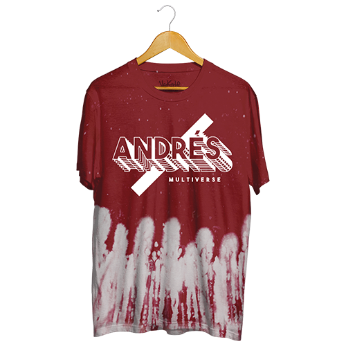 Andres - Custom Red Dye T-Shirt