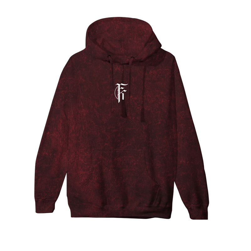 FFAK - Dark Skies Acid Wash Hoodie