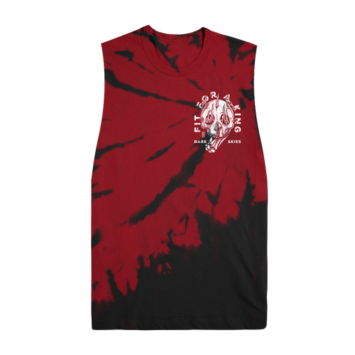 FFAK - Burning Skull Dye Cut Off