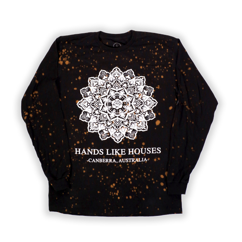 87451599 HLH - Bleached Mandala Speckle Long Sleeve LIMITED · HLH - Bleached Mandala  Speckle Long Sleeve Hands Like Houses. $24.95. HLH - Wire Frame Tee