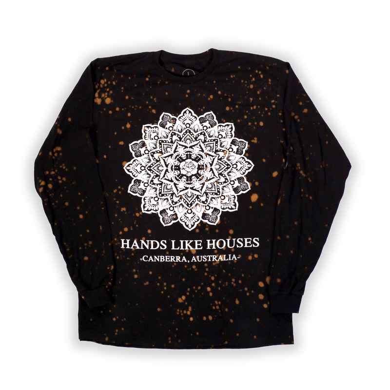 HLH - Bleached Mandala Speckle Long Sleeve