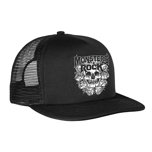 Monsters Of Rock - Skull Trucker Hat