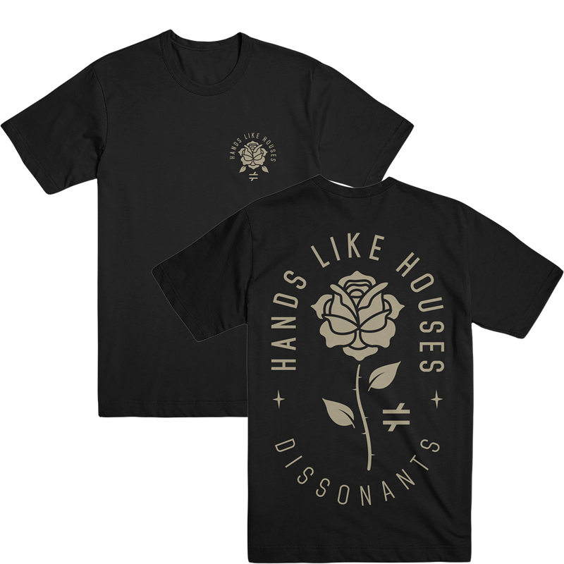 HLH - Rose Tee (Black)