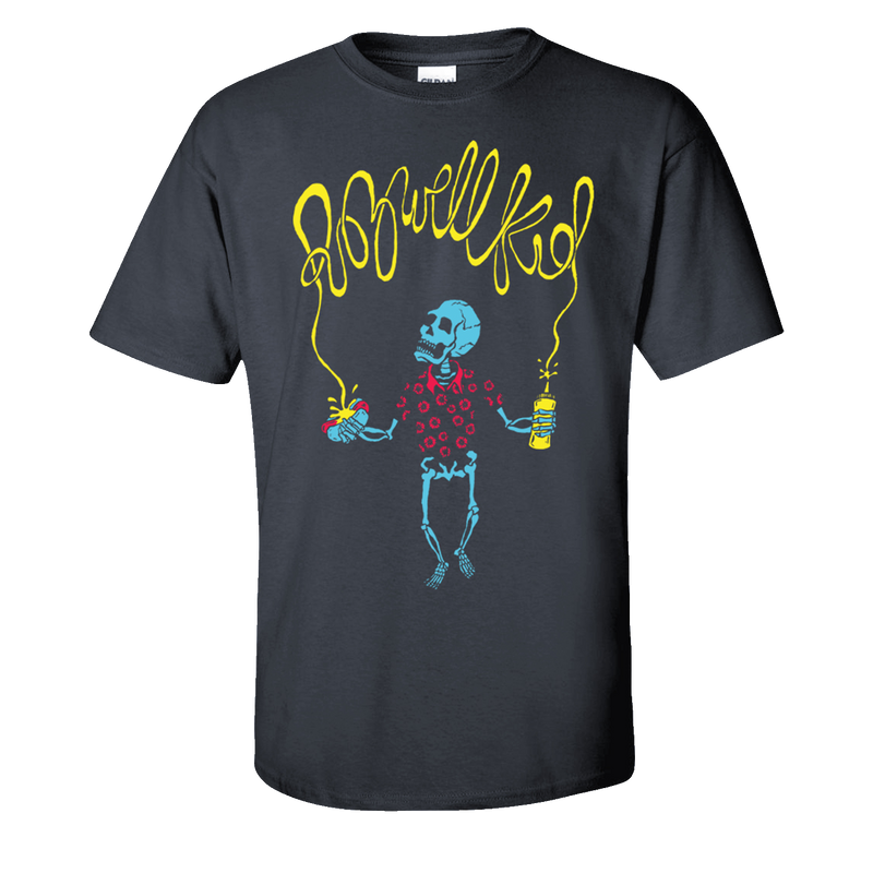 Rozwell Kid - Mustard Hot Dog Tee