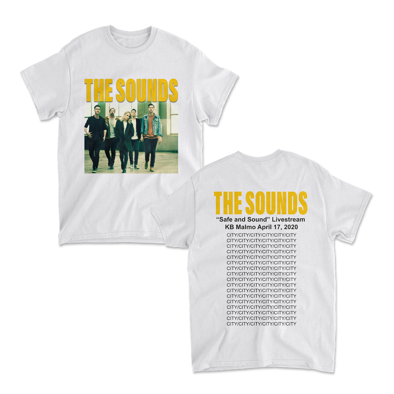 The Sounds - Safe and Sound Tee White
