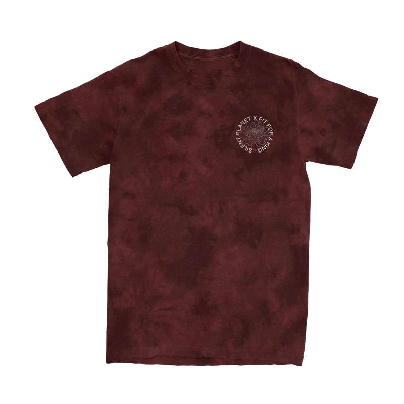 Silent King Dark Red Dye Tee