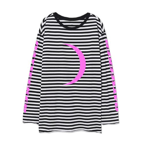 Dayseeker - Crescent Moon Stripe Long Sleeve