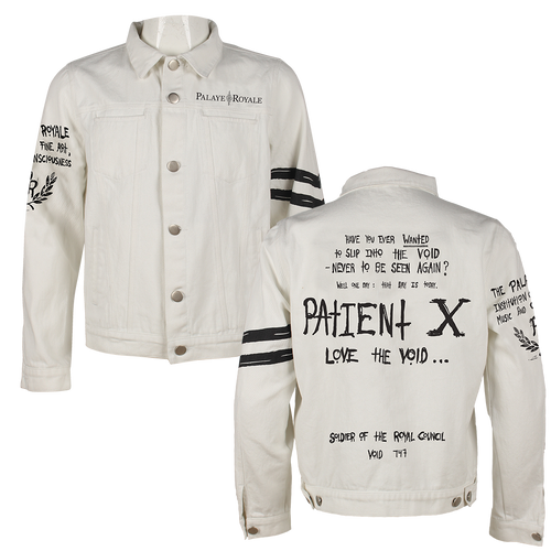 Palaye Royale - Custom White Denim Jacket