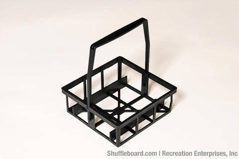 Outdoor Shuffleboard Disc Carrier