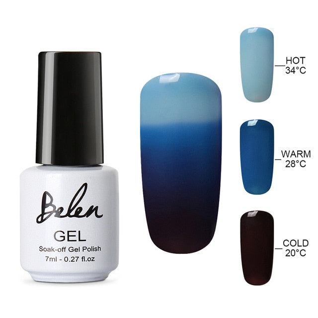 Color Changing Nail Gel Polish