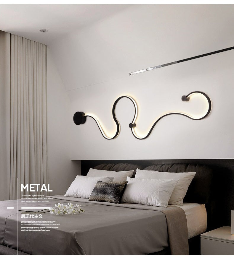 Acrylic Modern LED Wall Light (Warranty: 2 years)
