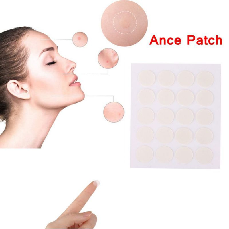 40pc Hydrocolloid Invisible Pimple and Blemish Skin Patch