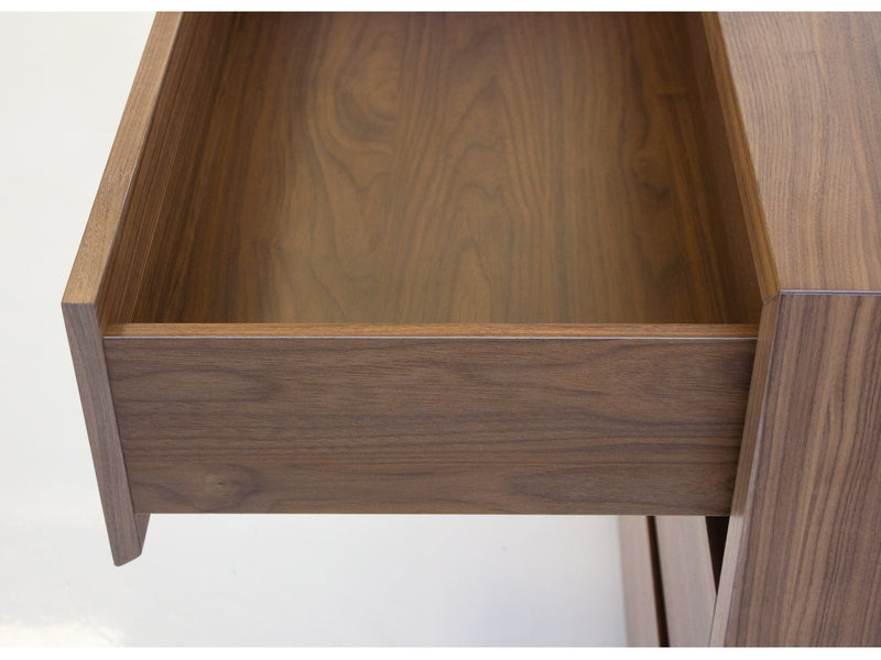 Blanche 3 dr Nightstand Walnut