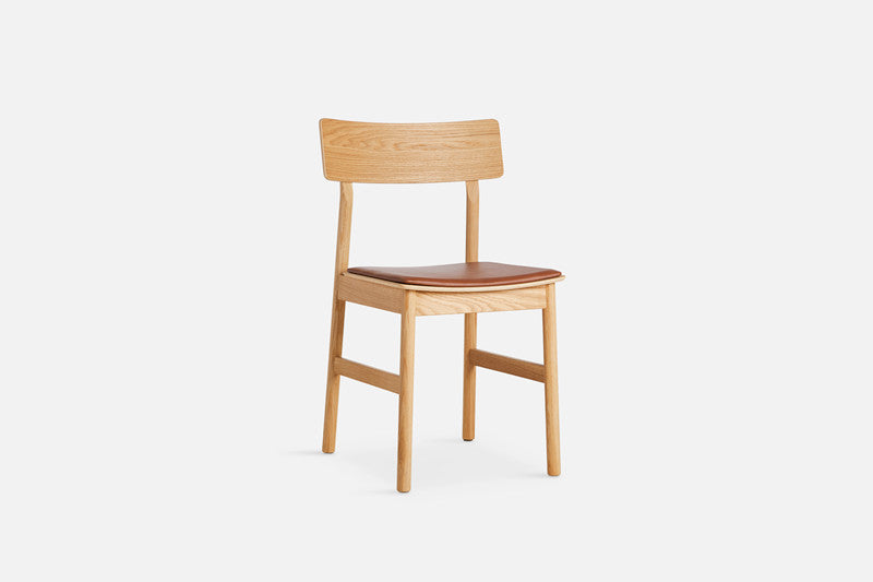 Pause Dining Chair 2.0 with Leather Seat
